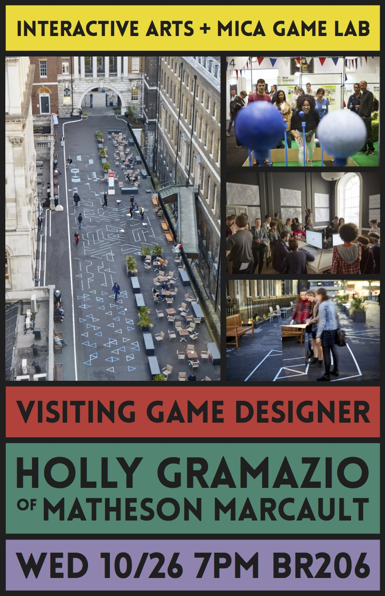 Holly Gramazio Flyer